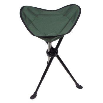 Állítható magasságú természetfotós összecsukható háromlábú szék.
