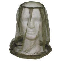 Szúnyoghálós arcvédő sapka fölé.